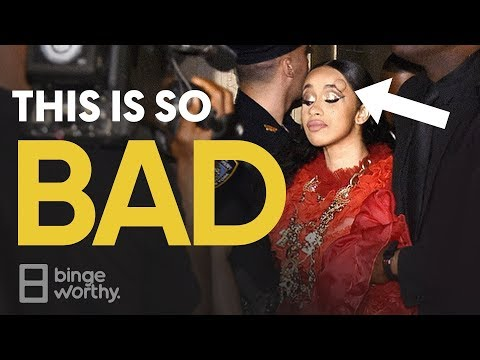 Bad News For Cardi B & Nicki Minaj | #NYFW 2018 Fight Footage