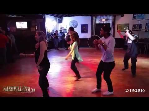 "Line Dancing, ""Let It Whip"" - 2/18/2016"