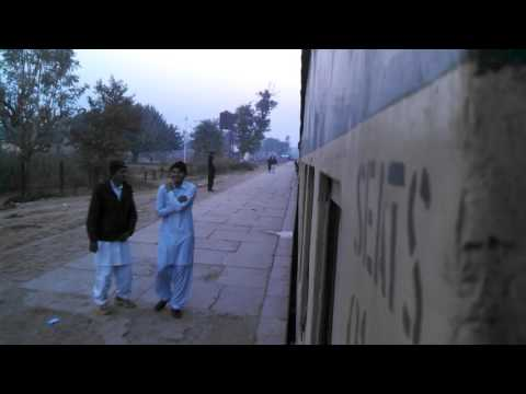 Pakistan Railway abdul hakim station departure