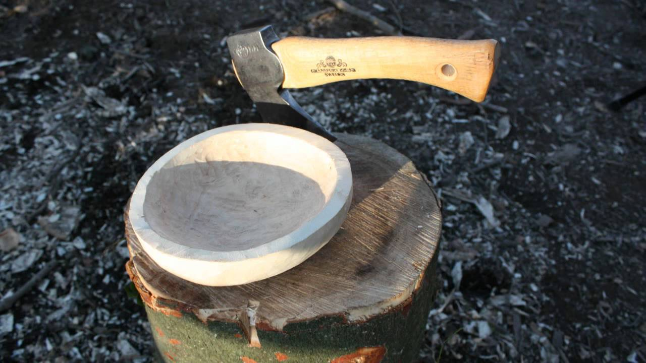 Spoon Carving with a Hatchet | Randall's Adventure & Training