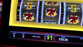777 Double Jackpot $5.00 a pull! Quick Hit Platinum Plus $25 a pull! Wynn Season 3
