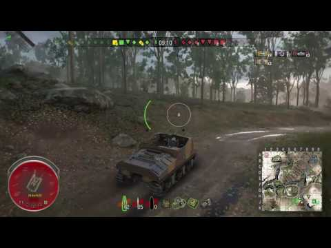World Of Tanks - Ps4 - Us Sexton 1 - Thiepval Ridge - Stark's & Ace Tanker