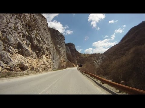 Bosnian road M-19 (01. Sarajevo city - Han Derventa village)