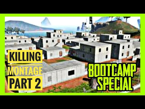 BOOTCAMP SPECIAL • A Decent Killing Montage Part 2 • PUBG MOBILE • 200 Subs Special