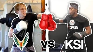 Logan Paul VS KSI Training Battle who will win the fight