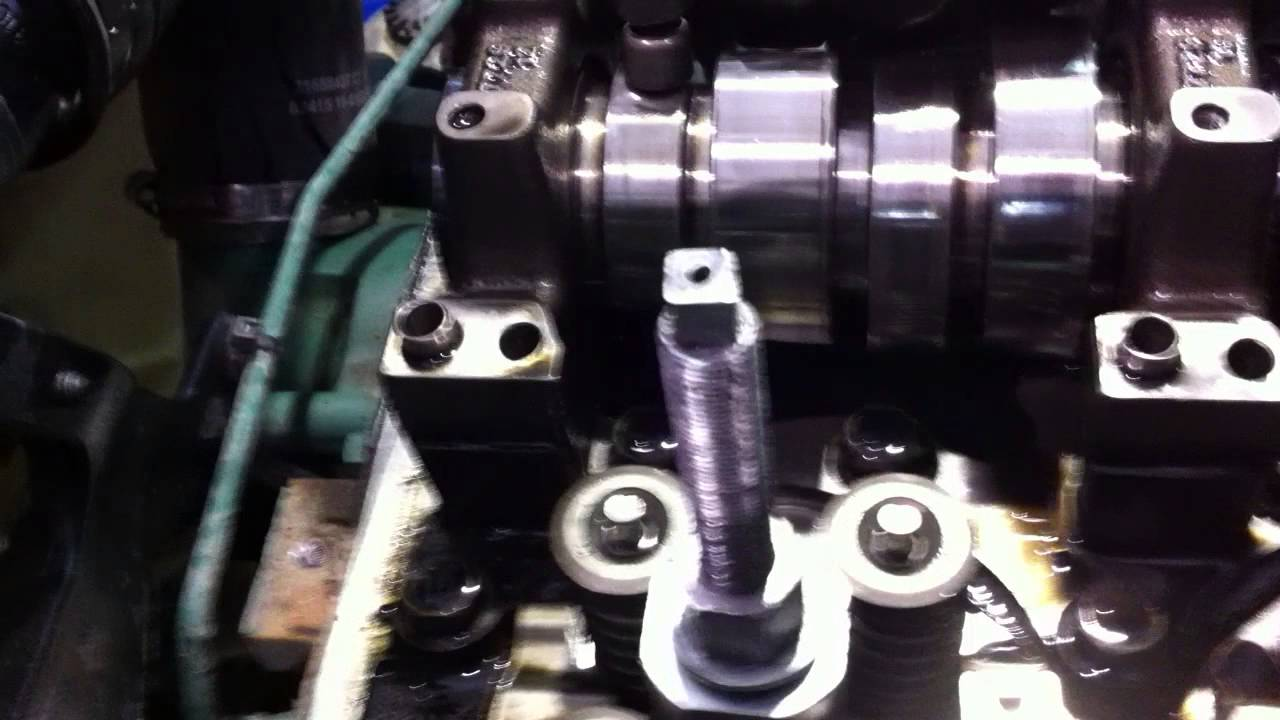 Turbo Diesel engine injector cups