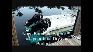 Barnacle Barrier™ Revolutionary Dry Docking Solution Boat Hull Bottom Paint Alternative