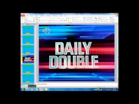 PowerPoint Jeopardy - Adding Daily Doubles