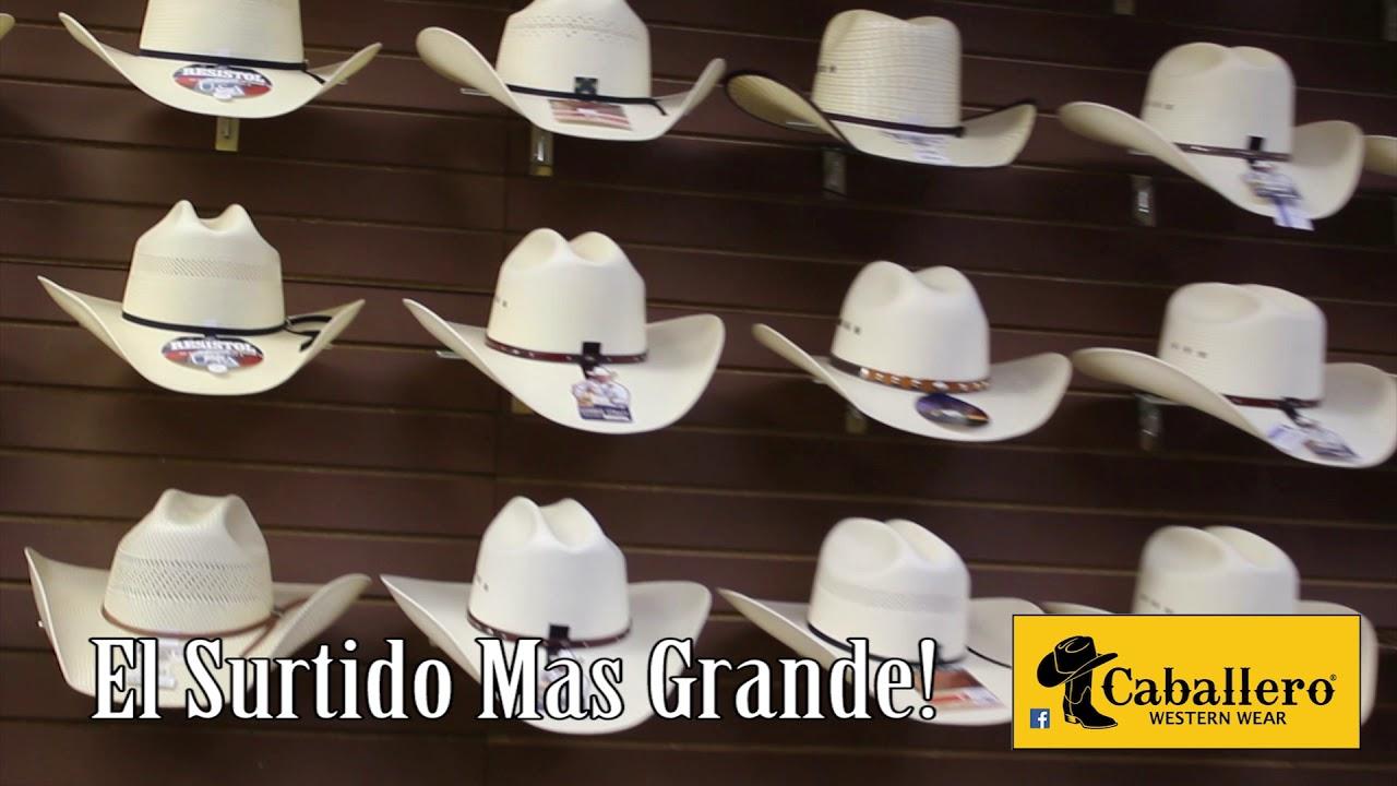 Sombreros estilo el fantasma en las tiendas caballero western wear sombrero  estilo sinaloa jpg 1280x720 Sombreros 0fc6877238c