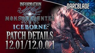 Patch 12.01 / 12.0.0.1 Guide - MHW Iceborne Patch Info