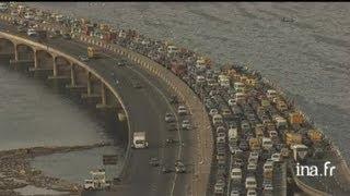 Nigéria : circulation urbaine à Lagos