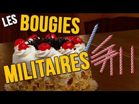Les Bougies Militaires Joyeux Anniversaire Humour Carte