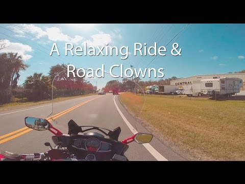 A Relaxing Ride To See A Client And A Few Road Clowns