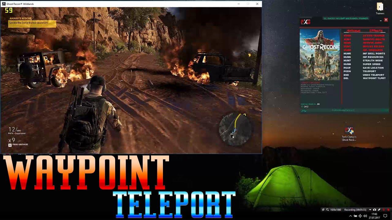 Tom Clancys Ghost Recon Wildlands V160 12 Trainer Update 1