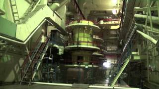 Inside Chernobyl Pumps and Corridor Nuclear Power plant