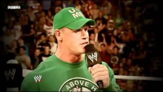 WWE Extreme Rules 2012 Brock Lesnar vs John Cena Promo