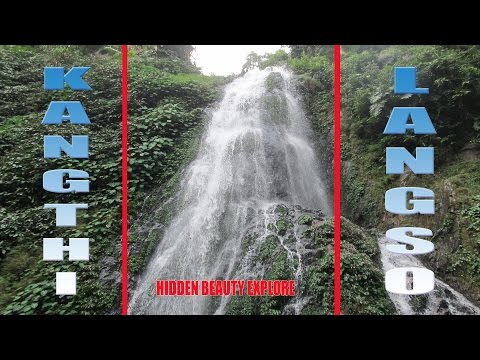 Kangthilangso || beautiful waterfalls || nature's magic || picnic resort || eco tour || India