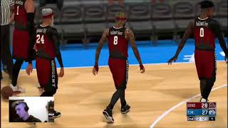 Monstarz vs GodSent NBA 2k Comp Games is Kai a top guard?