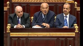 مجدي يعقوب يلقي كلمة في تأسيسية دستور 2012