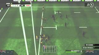 Rugby 15 Gameplay: Australia vs New Zealand