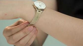 Review đồng hồ Anne Klein 3220WTGB