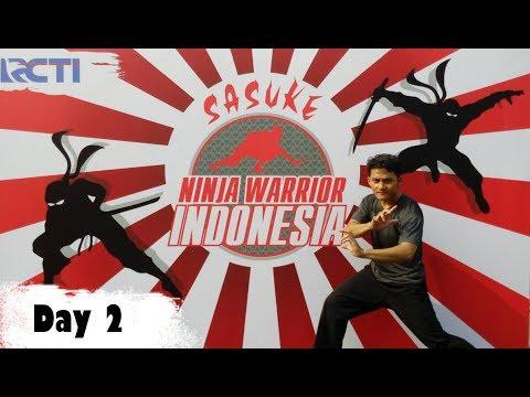 Try Out Sasuke Ninja Warrior Indonesia - Ridho Gian (Hari 2)