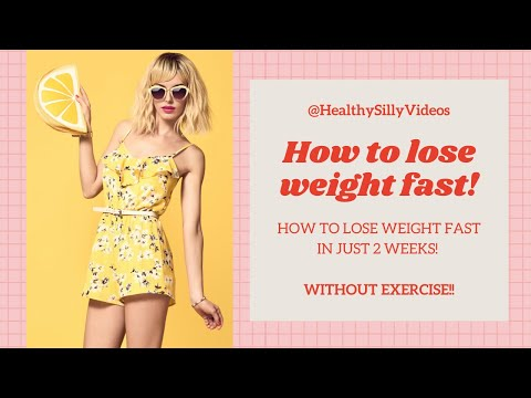 How To Lose Weight Fast | Easy Way To Lose Weight 10KG! [Without Exercise]