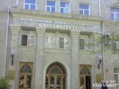 Azərbaycan Dövlət Pedoqoji Universiteti(Azerbaijan State Pedagogical University)