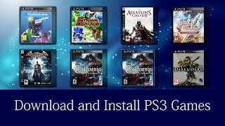How To Download And Install Ps3 Games With Usb For Free