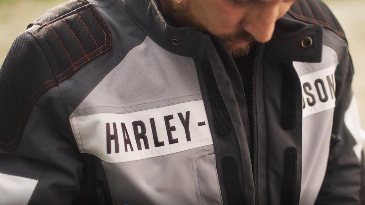 HARLEY-DAVIDSON Lederjacke Vanocker