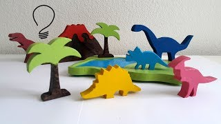 Wooden Dinosaurs Toys