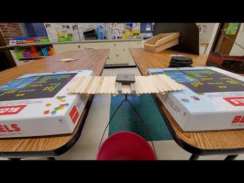 DPS Family Popsicle Stick Bridge Challenge