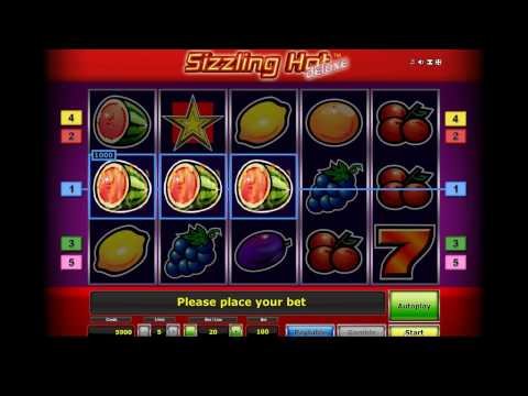Playing Sizzling Hot Deluxe Slot Machine for Free on 77777 Games