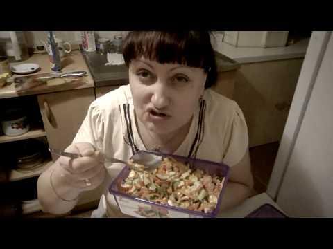 легонький салатик на 1 января
