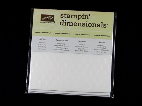 Image result for stampin dimensionals images