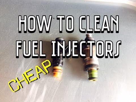How To Clean Fuel Injectors Youtube