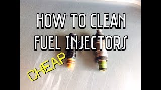 How to Clean Fuel Injectors YouTube - Clean Clogged Fuel Injectors
