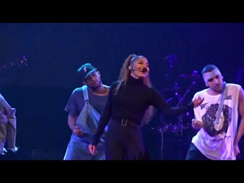Janet Jackson - Dammn Baby/finale - State Of The World Tour - Barclays Center NY - 15th of Nov 2017