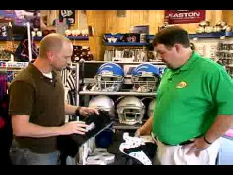 How To Fit Shoulder Pads For Youth Football Youtube