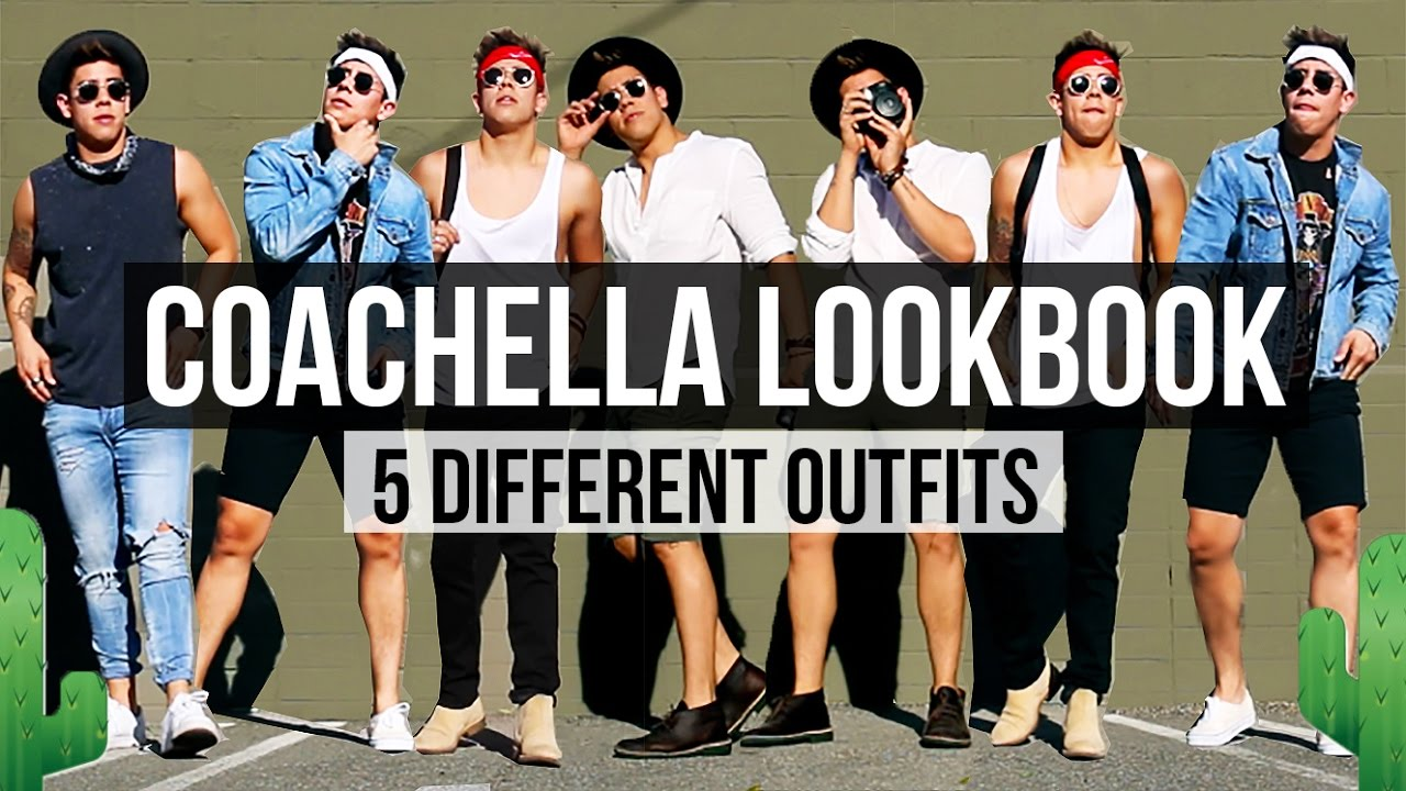 Coachella 2017 Fashion Lookbook 🌵 5 Different Outfits