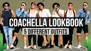COACHELLA 2017 FASHION LOOKBOOK 🌵 | 5 DIFFERENT OUTFITS | JAIRWOO
