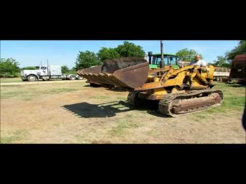 1957 Caterpillar 955 track loader for sale | sold at auction May 30, 2012