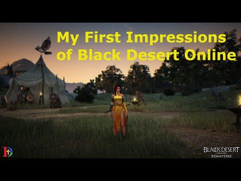 My First Impressions Of Black Desert Online