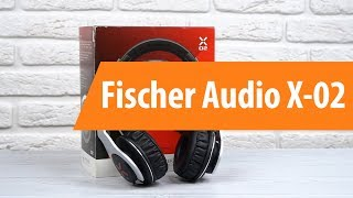 распаковка Fischer Audio X-02 / Unboxing Fischer Audio X-02