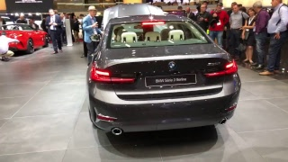 Live with the new BMW 3 SERIES