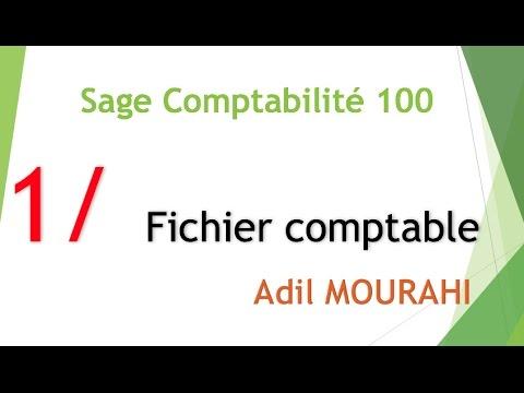 Download Sage comptablité 100 (darija): 1/ Création du fichier comptable