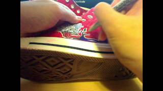 Line 4: Sharpie Illustrated Art Converse All Stars - Demonic & Devilish Creatures