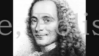 Voltaire, Polissonerie - Lecture de poème