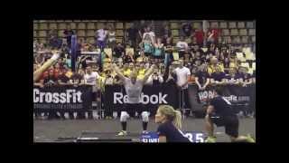 Oxana Slivenko - Reebok CrossFit Regionals - Event 2 + Event 3