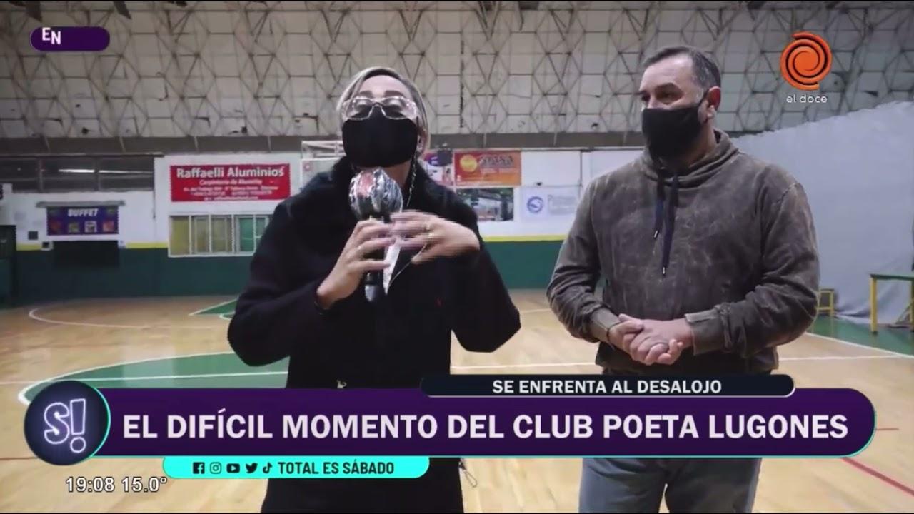 El Club Poeta Lugones en peligro de desalojo